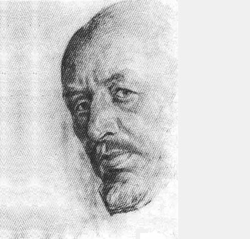 N. Kasatkin (1859-1930) Self-Portrait