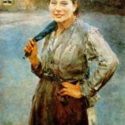 Miner woman. Oil, 1894. The State Tretyakov Gallery