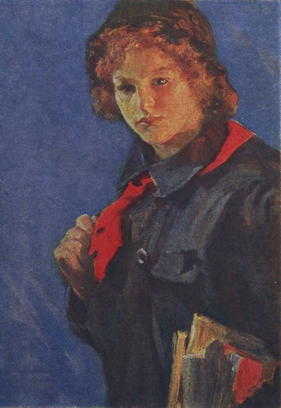 Soviet Russian painter Nikolay Kasatkin