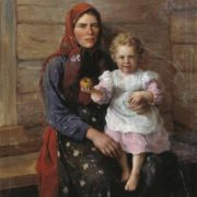 Nanny, 1903. Oil on canvas