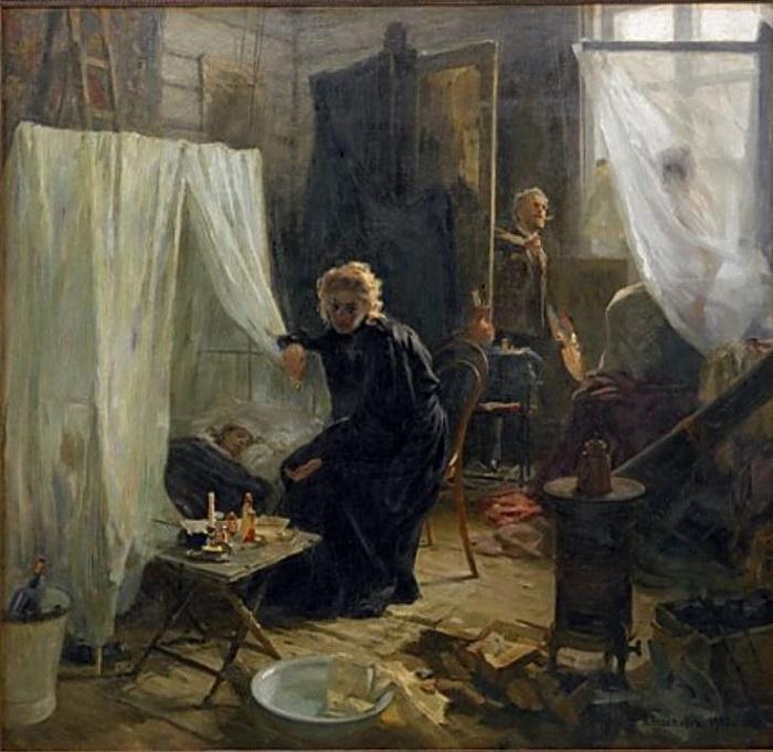 Quarrel. 1900