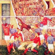 V. T. Ni. Football players 1971. Oil on canvas