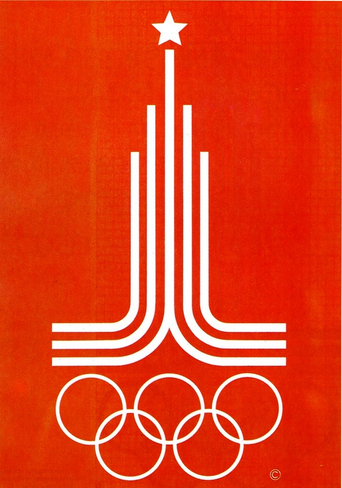 V.V. Arsentiev. Official emblem of the Games of the XXII Olympiad