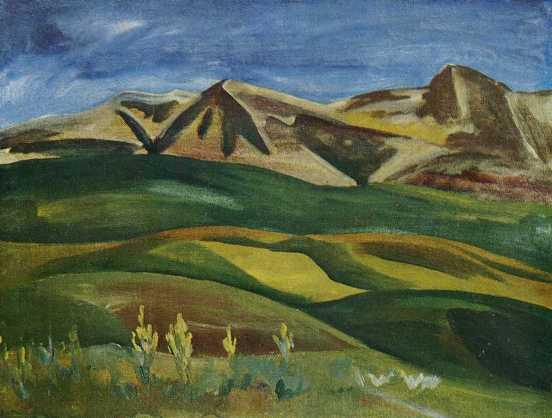 Green hills. 1973