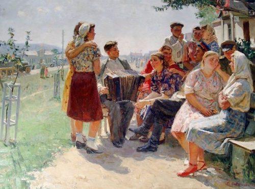 Soviet artist Maria Savchenkova 1917-2017