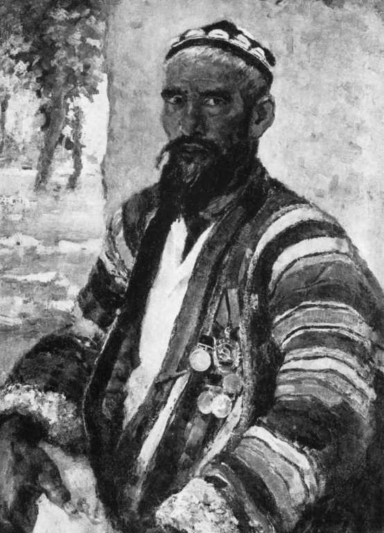 Kolkhoz guard. 1958