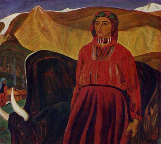 Milkmaid. 1972