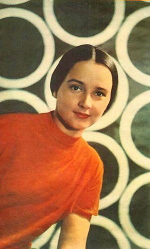 Moscow born actress Olga Krasina