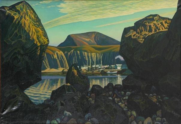 Otradnaya Bay. 1969