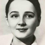 Soviet Russian film actress Olga Krasina