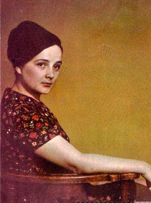 Russian actress Olga Krasina