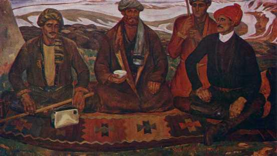 Sagirdasht shepherds. 1967