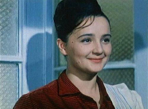 Soviet actress Olga Krasina
