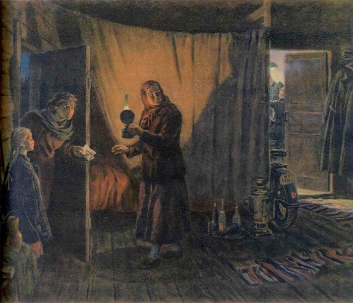 Truth. 1954. Kukryniksy