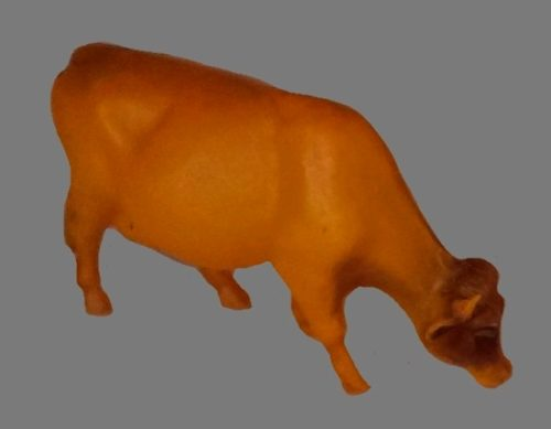 A cow, celluloid toy