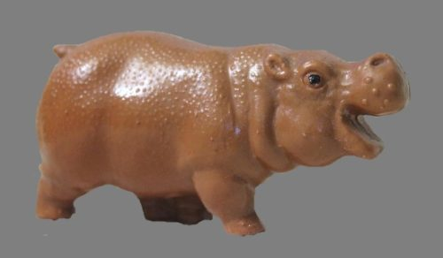 A hippo toy