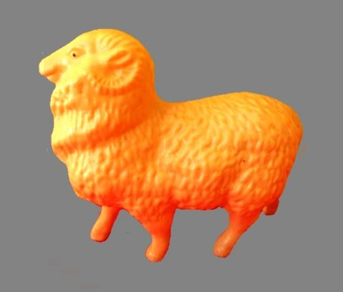 A sheep toy