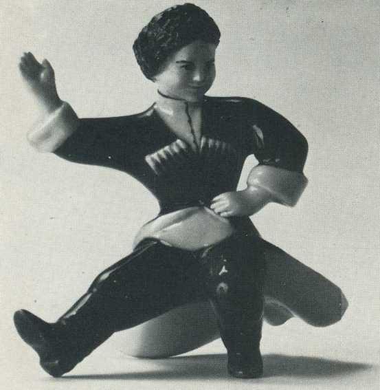 Dancing cossack boy. 1936-1937