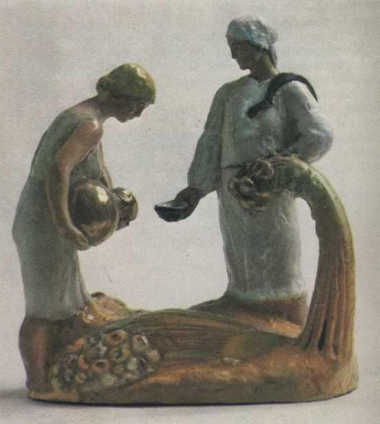 Harvesting. 1933