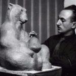 Soviet sculptor animalist Boris Vorobyov