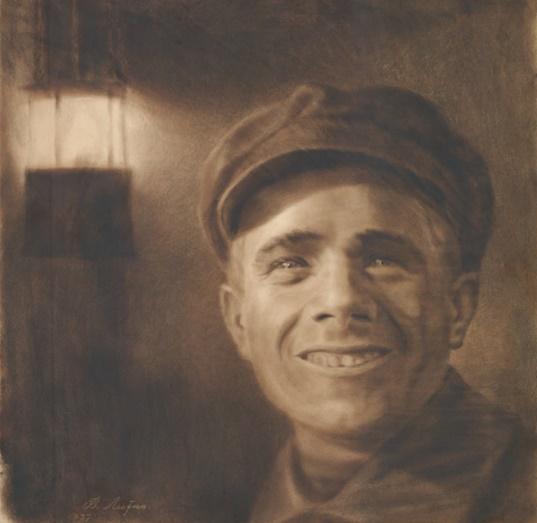 The driver Seletsky. 1937