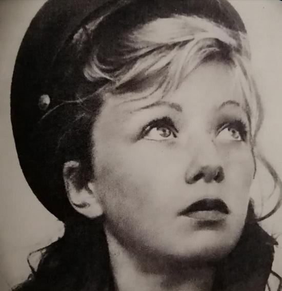Soviet actress Lyudmila Shagalova