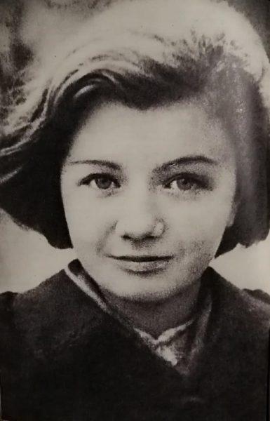 Young future actress