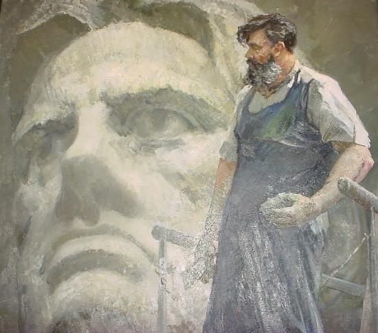 Soviet artist Vitaly Polyakov 1925-1997