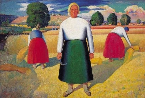 Malevich. Reapers